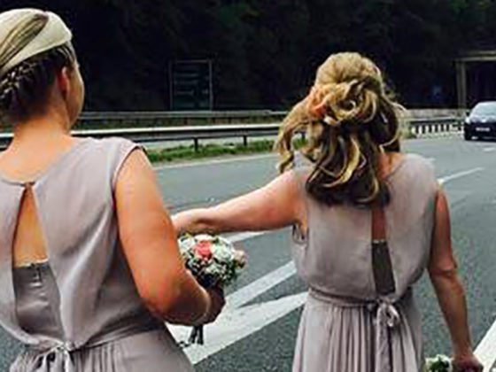 Fairytale ending for quick thinking Tower Hill bridesmaids