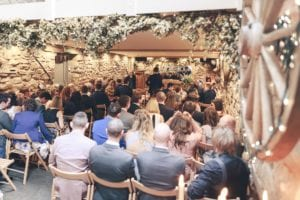A full wedding venue with beautiful features