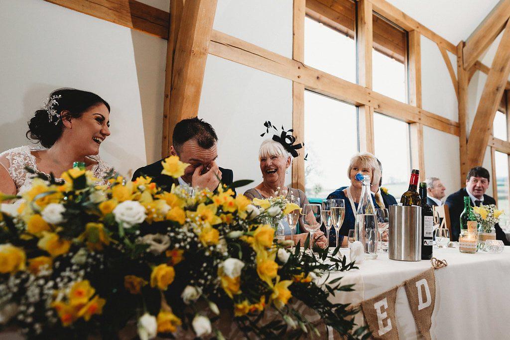 Sian & Wayne Spring Wedding at Tower Hill Barns