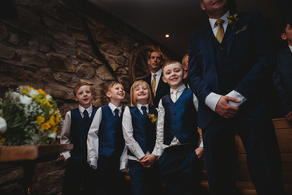 Sian & Wayne Spring Wedding