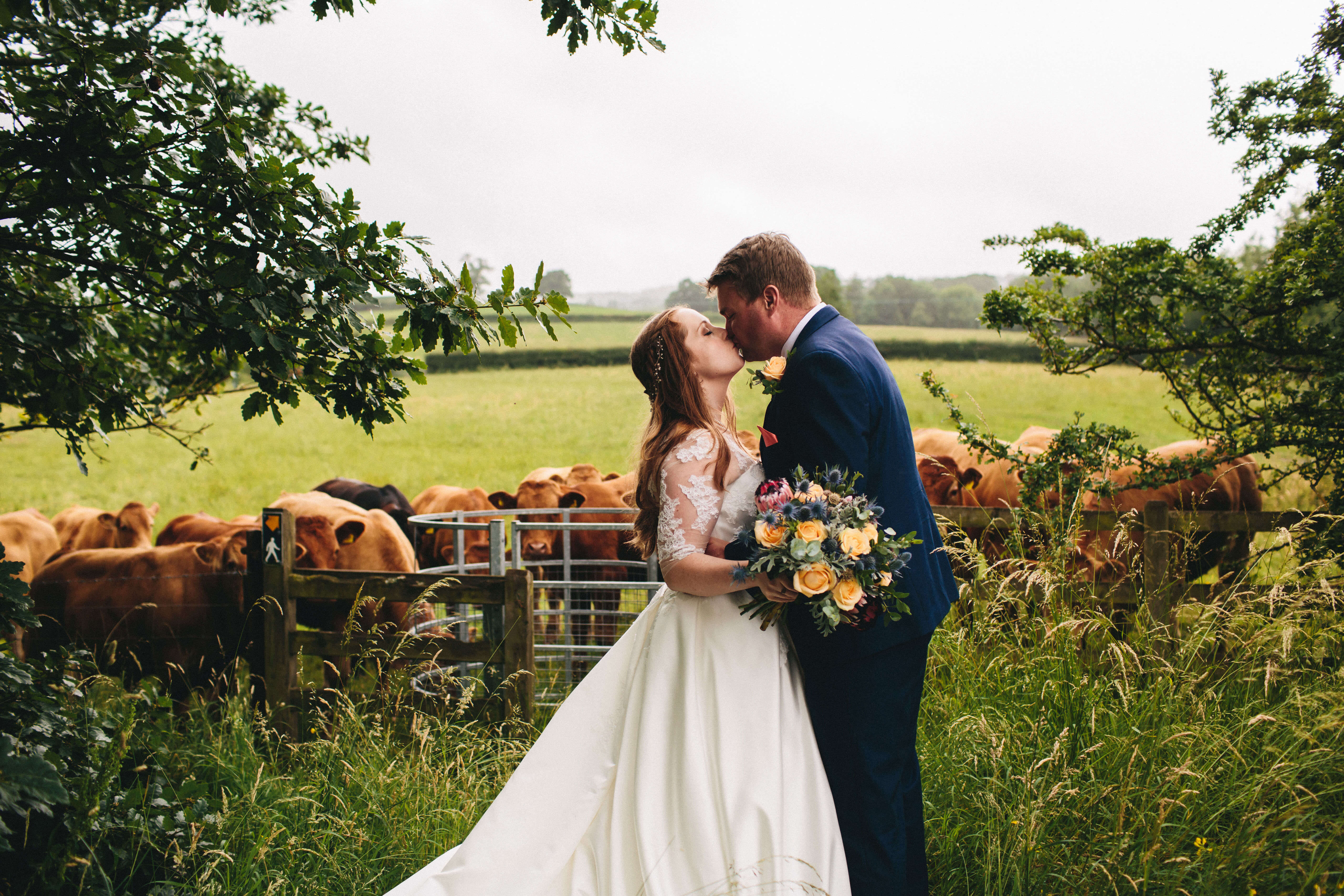 Our 10 Favourite Wedding Photo spots around the grounds of Tower Hill Barns in North Wales