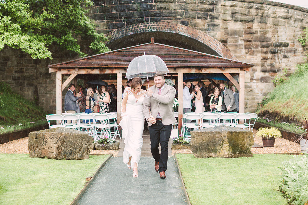 The stormy atmospheric wedding of Rach and Rich at Tower Hill Barns in May 2017