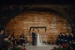 Outdoor wedding venue in North Wales