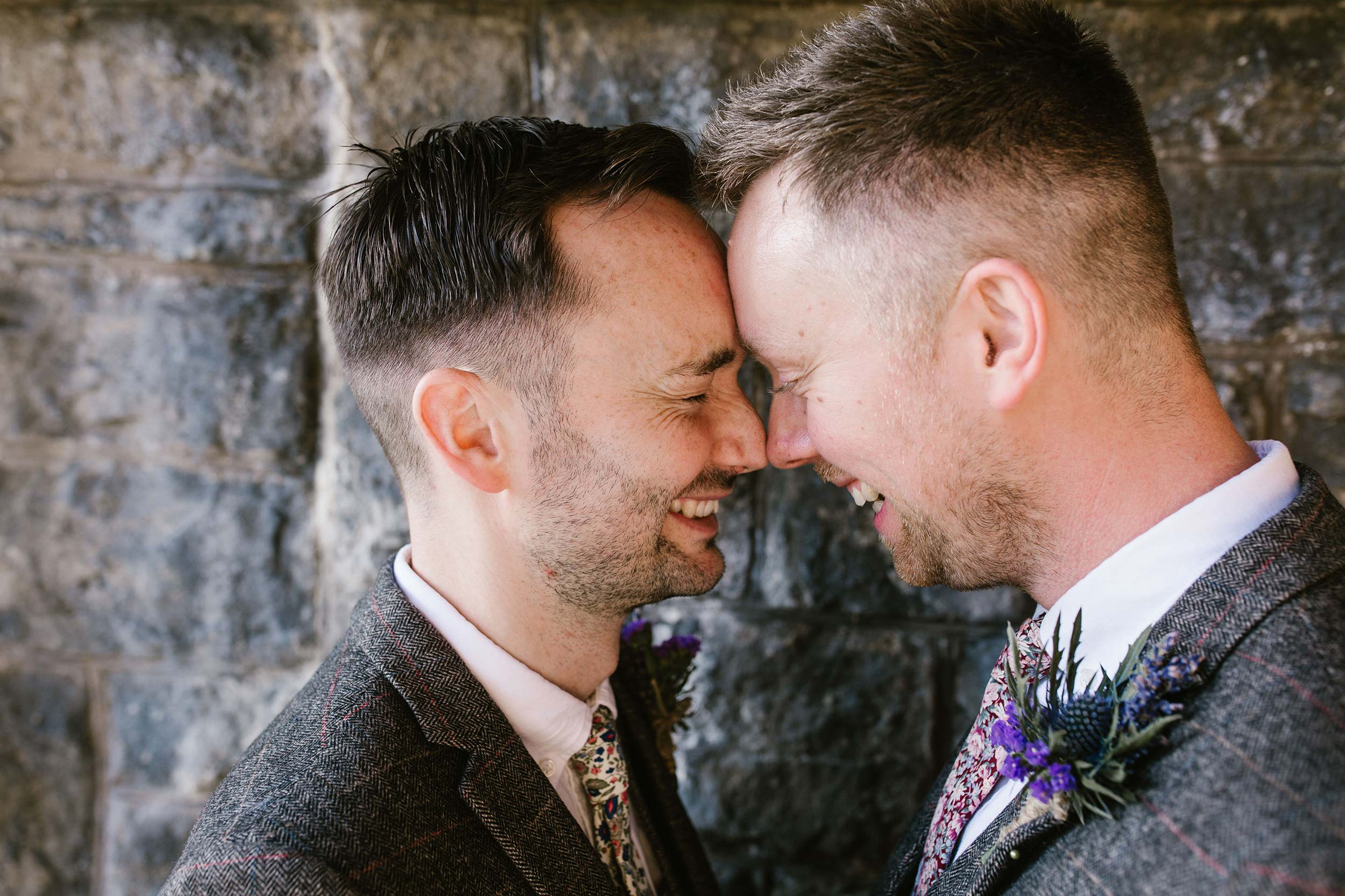 same-sex wedding photos that have us bursting with pride during pride month here at Tower Hill Barns