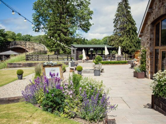 Tower Hill Barns - luxury wedding venue in North Wales